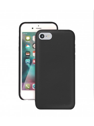 coque cuir noir iphone 7