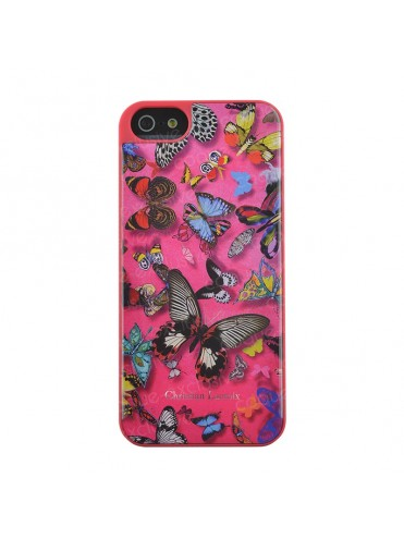 COQUE RIGIDE CHRISTIAN LACROIX BUTTERFLY PARADE ROSE