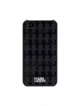 Coque rigide KARL LAGERFELD pour modèle IPHONE 5/5S - KLHCP5KBL