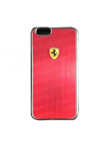 COQUE RIGIDE FERRARI SCUDERIA METALLIC RED