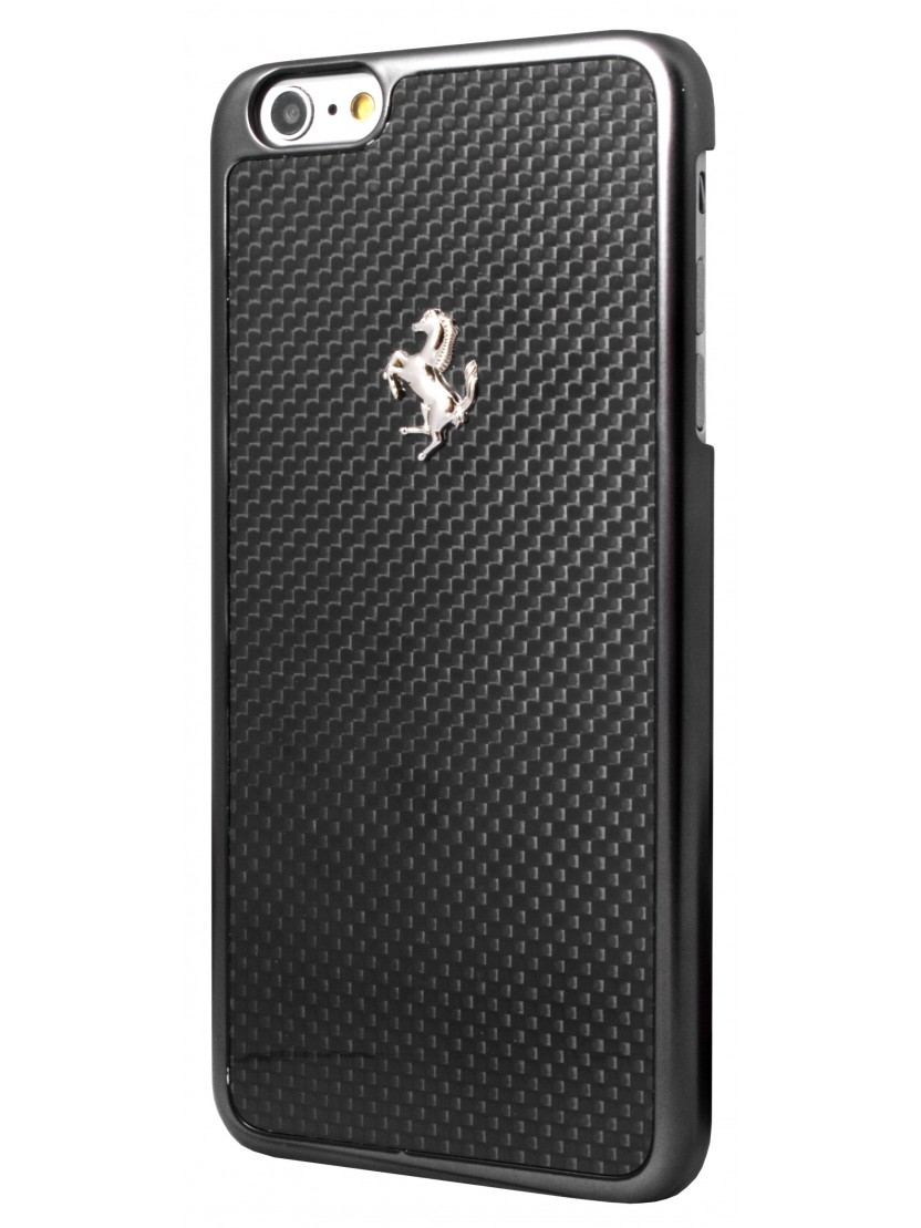 coque ferrari gt carbon noire iphone 6 plus 6s plus coque exclusive. Black Bedroom Furniture Sets. Home Design Ideas