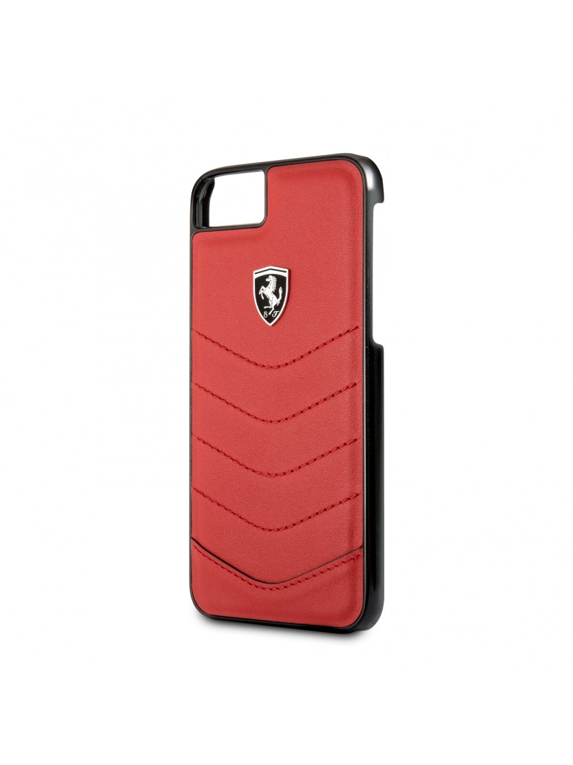 ferrari etui iphone6 iphone7 iphone8 housse folio portefeuille cuir noir coque exclusive. Black Bedroom Furniture Sets. Home Design Ideas