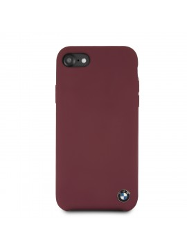 BMW SIGNATURE COQUE RIGIDE SILICONE BORDEAUX - IPHONE6/7/8