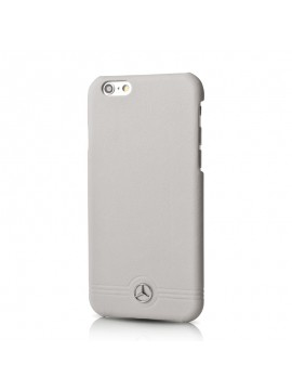 COQUE RIGIDE GRISE MERCEDES CUIR COLLECTION PURE LINE