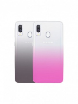 Packs protection COLORBLOCK pour modèle GALAXY A40 - CBCOVSILIDUOGA40BP