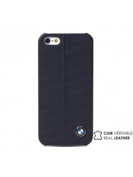 COQUE RIGIDE CUIR BMW LUXURY COLLECTION BLEU MARINE
