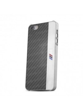 COQUE RIGIDE BMW NEW SIGNATURE ALUMINIUM STRIPE BLACK