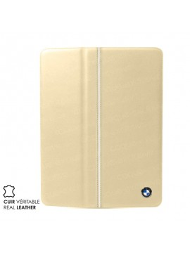 ETUI FOLIO CUIR BMW LUXURY COLLECTION BEIGE CREME