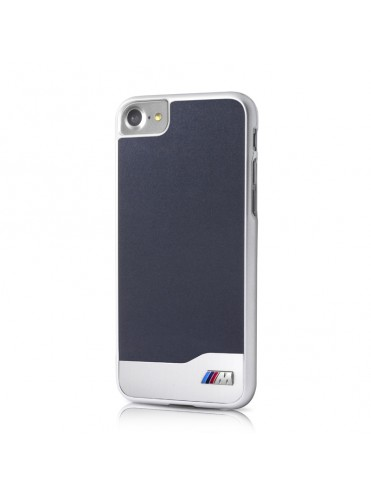Coque rigide BMW bleue collection Brushed Metal