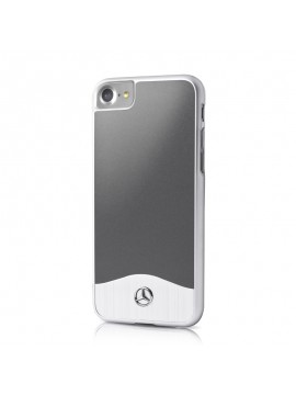 Coque rigide grise Mercedes collection Brushed aluminium