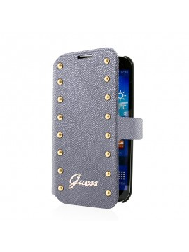 ETUI PORTEFEUILLE GUESS NEW STUDDED ARGENT